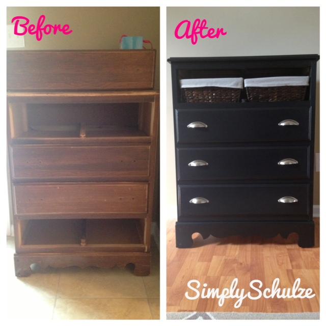 Repainting Wooden Furniture Latex Paint Tutorial Simplyschulze