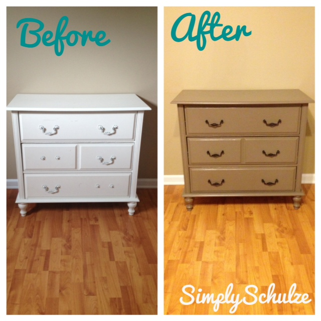 painting laminate furniture using latex paint simplyschulze. Black Bedroom Furniture Sets. Home Design Ideas