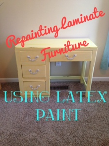 Painting Laminate Furniture Using Latex Paint