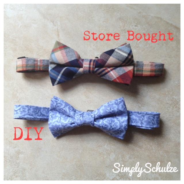DIY No-Sew Bow Tie | simplyschulze