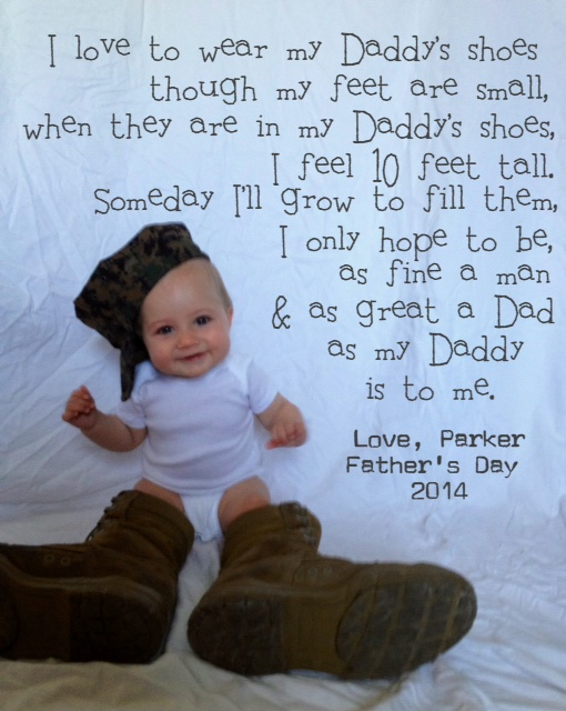 Cute First Fathers Day Gifts Part - 31: Fatheru0027s Day Is Just A Few Short Weeks Away And Baby P And I Both Agree  That J Is Just About The Best Daddy There Is And Deserves Nothing But The  Best ...