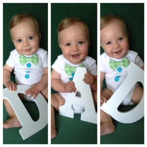 Baby P's DIY Father's Day Photo Gifts