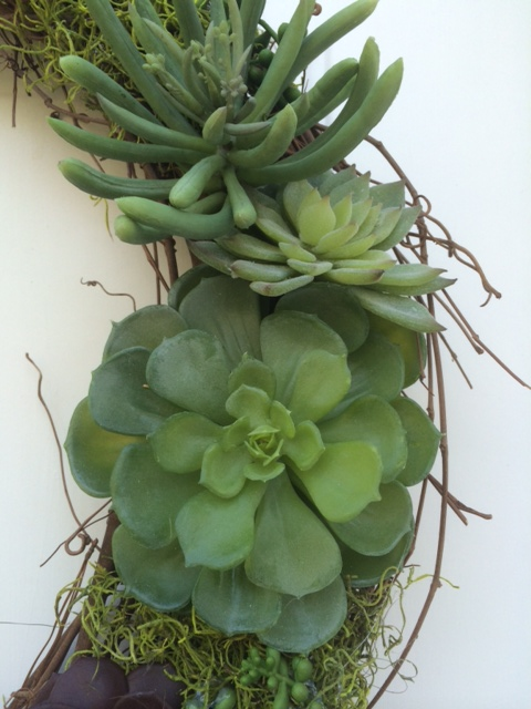 Pottery Barn Hack Diy Faux Succulent Wreath Simplyschulze