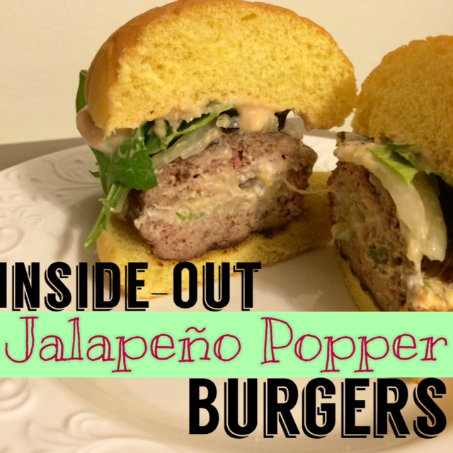 Inside-Out Jalapeno Popper Burgers | simplyschulze