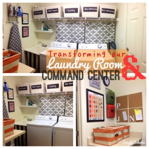 Laundry Room & Command Center Transformation