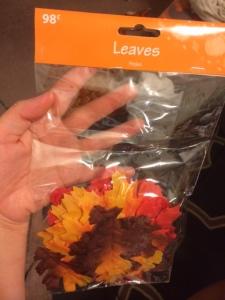 98 cent Walmart leaves!