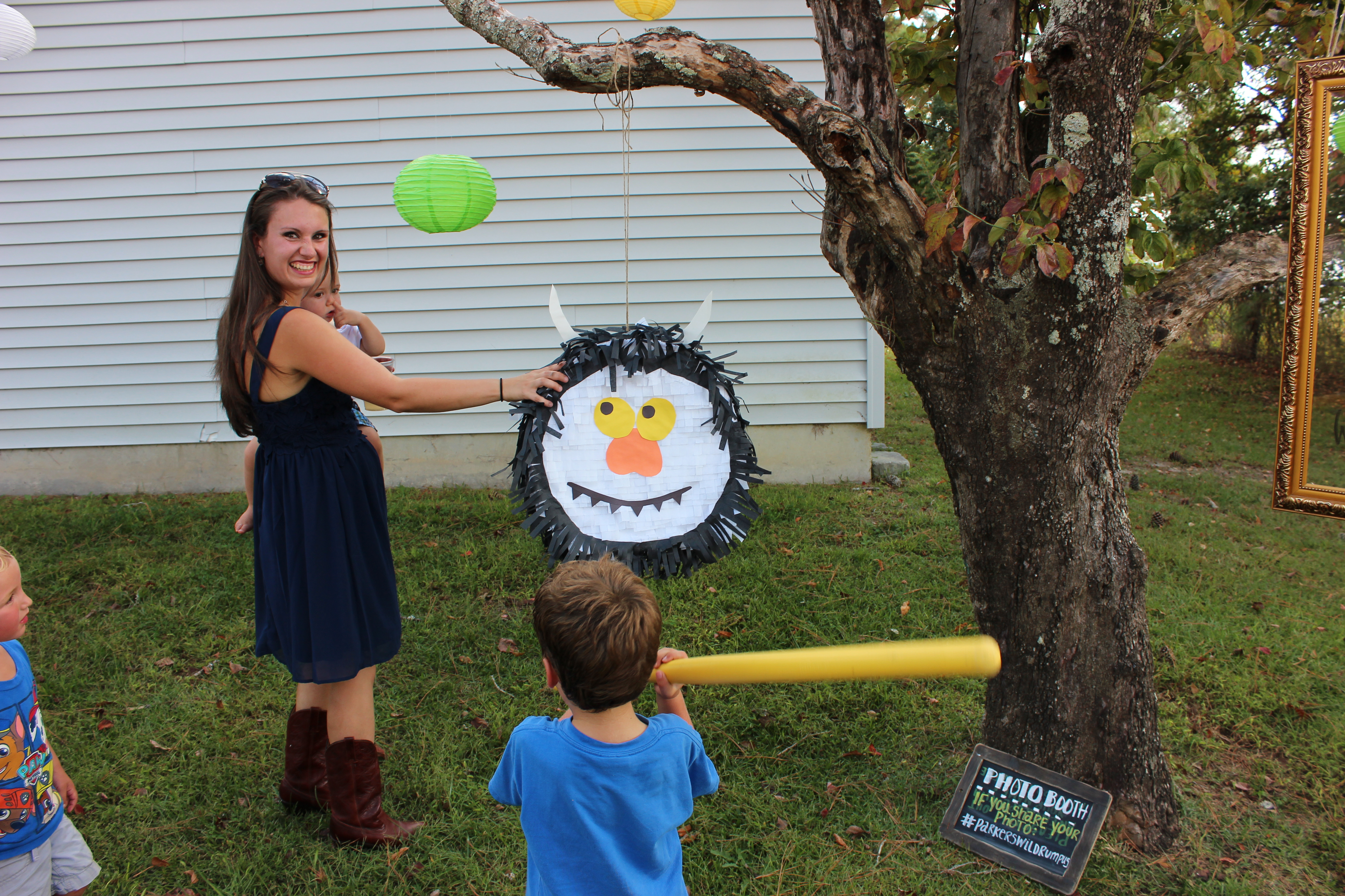 """DIY Pinata - """"Where the Wild Things Are"""" 