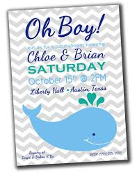 "this was my inspiration, I found it by way of a Google search for ""whale baby shower invitation"""